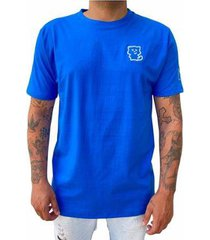 camiseta cash azul básica - masculino