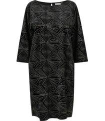 sammetsklänning carsalana 3/4 knee dress