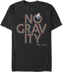 fifth sun men's over the moon no gravity short sleeve t-shirt