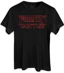 camiseta bandup! bandup friends don t lie masculina