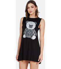 deanna bandana bear - xl black