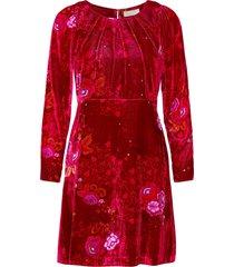 vera dress kort klänning röd odd molly