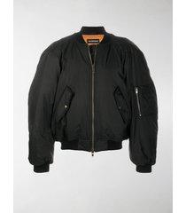 balenciaga oversize bomber jacket