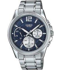 reloj casio kcasmtp-e305d-2a-gris