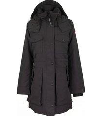 canada goose gabriola parka jacket navy