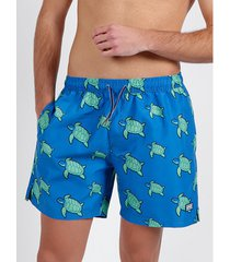 zwembroek admas for men turtle diver zwemshort blauw admas