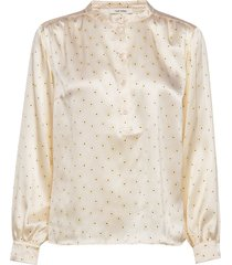 betty shirt blouse lange mouwen geel nué notes