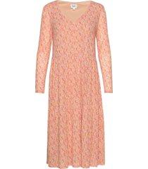 deasz desert jersey dress desert di knälång klänning rosa saint tropez
