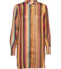 shirt in multi color print blouse lange mouwen multi/patroon coster copenhagen
