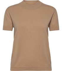 2nd mila t-shirts & tops knitted t-shirts/tops beige 2ndday