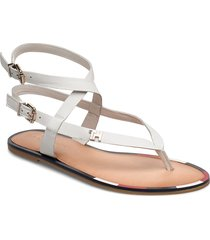 fem elastic flat sandal shoes summer shoes flat sandals vit tommy hilfiger