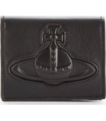 vivienne westwood women's chelsea woman billfold wallet - black