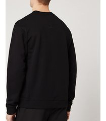 kenzo men's vertical logo sport sweatshirt - black - s