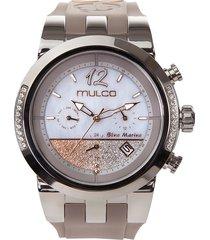 reloj mulco para mujer - blue marine infinity  mw-5-4721-223