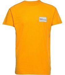 halo cotton raglan tee t-shirts short-sleeved guld halo
