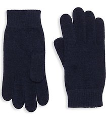 knitted merino wool gloves