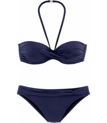 bikini lascana 2-delige bandeau bikiniset variokini