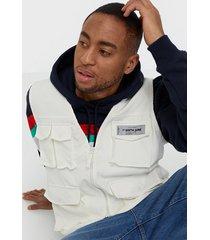 sixth june lightweight utility vest jackor white