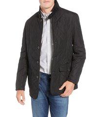 men's barbour lutz quilted jacket