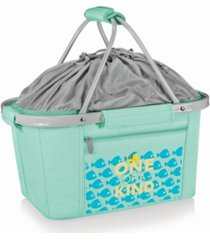 picnic time disney's the little mermaid metro basket collapsible cooler tote