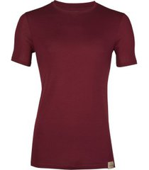 rj bodywear good life t-shirt round neck red