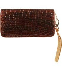 billetera marrón donadonna