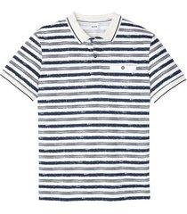 polo a maniche corte (bianco) - john baner jeanswear