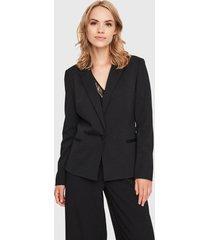 blazer vero moda negro - calce ajustado