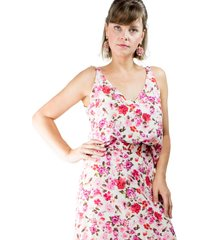 top cropped knot modisch mini roses - kanui