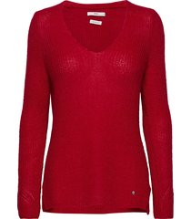 lana gebreide trui rood brax