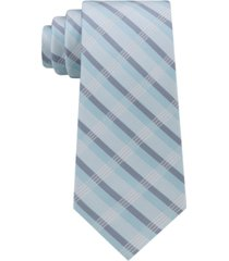 calvin klein men's creme plaid tie