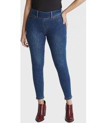 jeans blue medio pitillo azul curvi