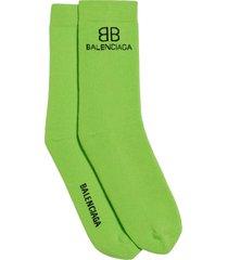 bb logo socks