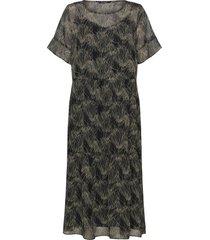 draw karen dress knälång klänning svart bruuns bazaar