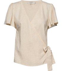 esthercr blouse blouses short-sleeved creme cream