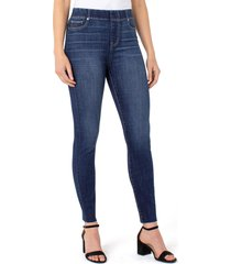 women's liverpool los angeles chloe high waist ankle skinny jeans