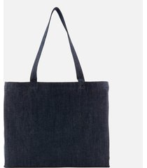a.p.c. women's daniela shopper tote bag - indigo