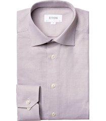 diamond dobby slim shirt