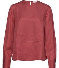 fen blouse blouse lange mouwen roze filippa k