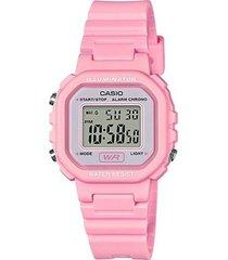reloj casio modelo la20wh-4a1df rosado mujer