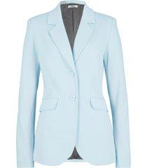 blazer sciancrato in jersey di cotone (blu) - bpc bonprix collection