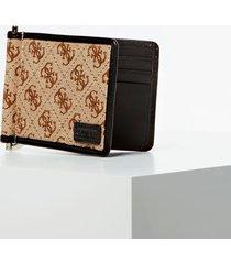 portfel na banknoty z logo 4g model dan