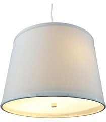 light oatmeal  2 light swag plug-in pendant with diffuser