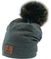 czapka zimowa z pomponem zestaw