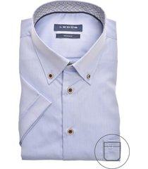 korte mouwen overhemd ledub strijkvrij