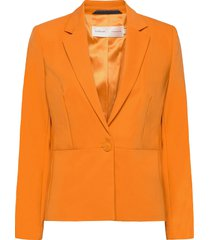 zella blazer blazers business blazers orange inwear