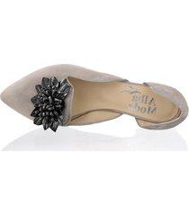 skor alba moda grå::svart