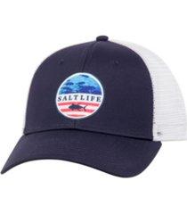 salt life mens respect hat
