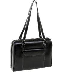 """mcklein glenview 15"""" ladies laptop briefcase"""