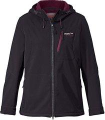 softshell jas, ademend, waterafstotend & winddicht win star zwart